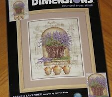 French Lavender - Kathryn White Design 2001 Dimensions Cross Stitch Kit - Sealed