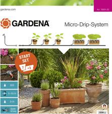"""GARDENA Micro-Drip System Start-Set Pflanztöpfe M 13 mm (1/2"""") Ø Schlauchlänge:"""