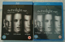 """""""The Twilight Saga The Story So Far"""" 3 Disc DVDs Twilight, New Moon, Eclipse NEW"""