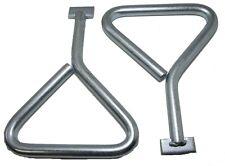 2pk Manhole Cover Keys T-End - 170mm Plumbers Drain Lid Plate Lifting Tool PB016