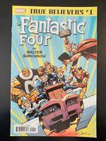 TRUE BELIEVERS: The Fantastic Four, Walter Simonson #1 (2018 MARVEL Comics VF/NM