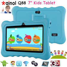 7 Inch IPS Kids Tablet PC 8gb Quad Core Android 7.1 Dual Camera WiFi Child Blue