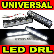 Xenon White 4 LED Daytime Running Light DRL Day Driving Lamp Daylight Kit C91