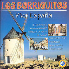 LOS BORRIQUITOS - VIVA ESPANA NEW CD