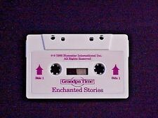HOMESTAR GRANDPA TIME CLOCK AUDIO CASSETTE TAPE TITLED ENCHANTED STORIES WORKS