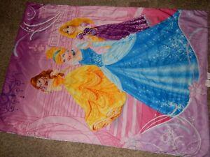 7H LN Disney Princess Princesses Toddler bed Blanket Comforter Microfiber