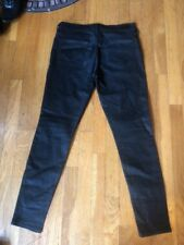 """True Religions Halle Mid Rise Super Skinny Sz 30 Inseam 29"""" Jeans Made In USA"""
