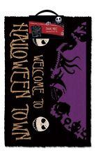 Nightmare Before Christmas Halloween Town Doormat Welcome Non Slip Outdoor