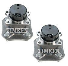 Pair Set of 2 Rear Timken Wheel Bearing Hub Kit for Nissan Versa FWD 4Wheel ABS