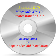 Bootable Microsoft Windows Professional 64 bit