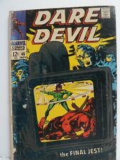 Marvel Comics Dare Devil, The Final Jest Original 1968 Issue