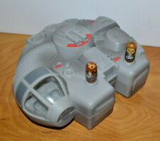 MIGHTY BEANZ STAR WARS MILLENNIUM FALCON CARRYING CASE HAN SOLO CHEWBACCA