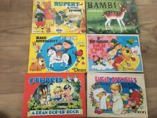 Vintage Pop Up Book Collection