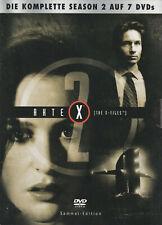 AKTE X - 2. Staffel - David Duchovny & Gillian Anderson - 7 x DVD SET