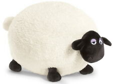 39653 NICI Plush 6 11/16in Shaun the Sheep Shirley + Present