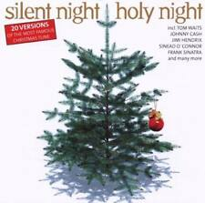 Silent night 20 versions tom waits Johnny Cash Frank sinatra Jimi Hendrix CD NEUF