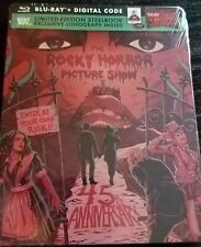 The Rocky Horror Picture Show 45th Anniversary Steelbook Blu-ray Sealed!