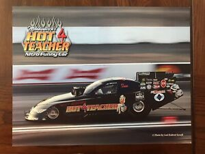 2020. Rare !! Hot For Teacher Funny Car Handout Postcard