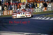 NINO VACCARELLA AUTODELTA SPA ALFA ROMEO TIPO 33TT3 LE MANS 1972 Fotografia