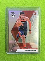 RUI HACHIMURA MOSAIC ROOKIE CARD JERSEY #8 WIZARDS 2019-20 Panini Mosaic TRUE RC