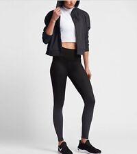 Nike Women's Grey Dry Fit Training Jacket Hoodie, Size S