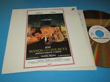 "Manon Des Sources (Manons Rache) - PAL - 12"" Laserdisc"