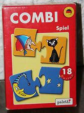 PALETTI Combi Spiel 18 Karten Puzzle Puzzlekombination 4+