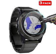 For Garmin Fenix 5 Smart Watch 3 x Tempered Glass Screen Protector