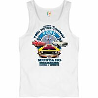 Ford Mustang Tank Top Detroit Mi 1903 Ford Motor Company Licensed Men/'s Top