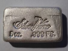 5oz SilverTowne Hand Poured .999 Fine Silver Bar | B/U