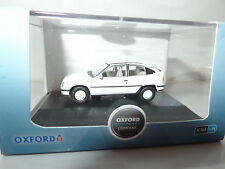 Oxford 76VX001 VX001 1/76 OO escala Vauxhall Astra MK II 2 Blanco