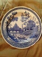 """The Spode Blue Room Collection Georgian Series """"ROME"""" Dinner Plate 10 1/2"""""""