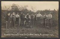Postcard Alderholt nr Verwood Dorset village Voluntary Workers for New Chapel RP