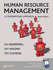 """""""VERY GOOD"""" Holden, Len, Beardwell, Prof Ian, Human Resource Management: A Conte"""