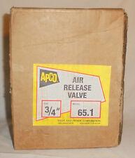 """3/4"""" APCO 65.1 Air Vent Valve 150 PSI No. 65"""