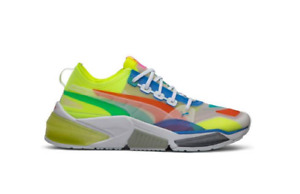 Puma LQDCELL Optic Sheer Multicolor Sneakers 192560-01 Men's Size 10