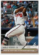 Ronald Acuna Jr. TOPPS NOW Leadoff HRs both games of doubleheader make history