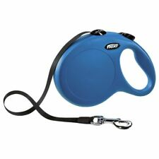 8m Dog Retractable Lead Blue Accessories Secure Large Safety Loop Simple