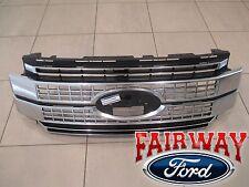 17 thru 18 Super Duty F-250 -F350 F-450 OEM Ford Satin Aluminum PLATINUM Grille