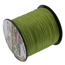 Army Green 500M 50LB Super Strong Ashconfish Extreme PE Braided Sea Fishing Line