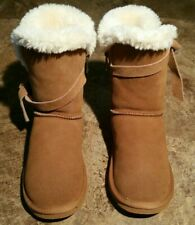 LAMO Medora Water and Stain Resitant Suede Tassle Boots