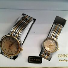HIS & HERS Classy matching Watches for the Men's and Lady's set watch by Geneva