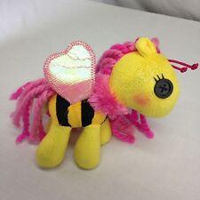 "Lalaloopsy Plush Horse Bumble Bee Wings Winged  Small 7"""