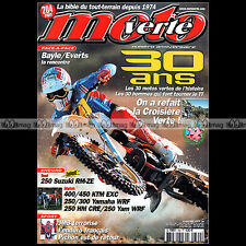 MOTO VERTE N°360 YAMAHA 660 XTR 250 WRF JEAN-MICHEL BAYLE STEFAN EVERTS 2004
