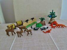 Playmobil Wald Tier Rehe / Füchse / Raben / Stinktiere / Pflanzen