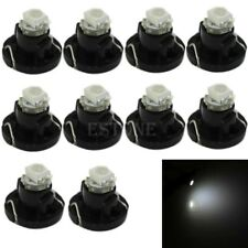 New White Neo Wedge 1 SMD 1210 LED Bulbs T4.2 HVAC Climate Control Lights 10pcs