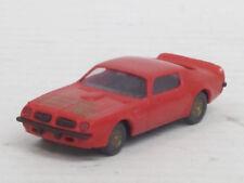 """Pontiac Firebird Trans Am """"Spielwarenmesse 1984"""" in rot, o. OVP, Praliné, 1:87"""