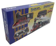 T667 Eisenbahn Set 13 teilig mit Licht, Ton und Rauch D0