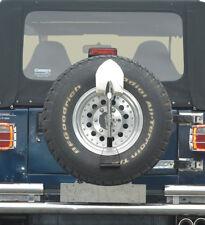 Off Road Spaten Jeep Wrangler TJ YJ JK Edelstahl Zubehör Ersatzradabdeckung