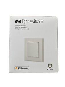 Eve Light Switch - smarter Lichtschalter für Apple Homekit, OVP
